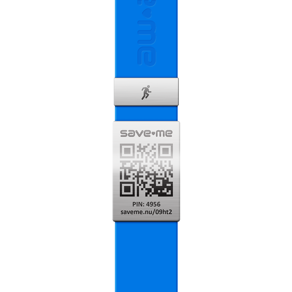 Save-Me Charm Runner RVS