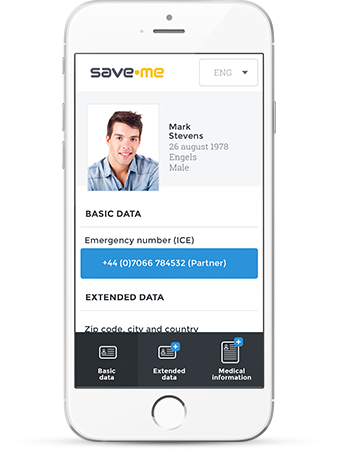 Save-Me Profile view data ICE